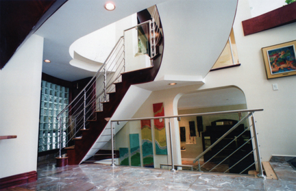 stainless steel railing