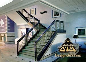 auberge Godefroy, escalier
